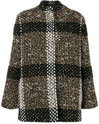 Gianluca Capannolo - Large Checked Coat - Lyst
