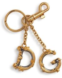 Dolce & Gabbana Брелок Dg Baroque - Металлик