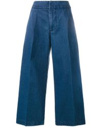 Marni | Cropped Wide-leg Jeans | Lyst
