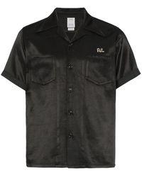 Visvim Camisa bowling Irving - Negro