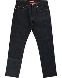 Supreme Straight-leg Jeans - Blue