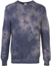 Massimo Alba Hand Painted Sweater - Blue
