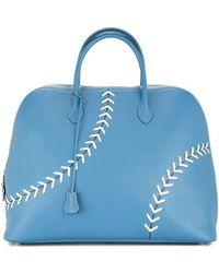 Hermès Sac Bolide Baseball ハンドバッグ - ブルー