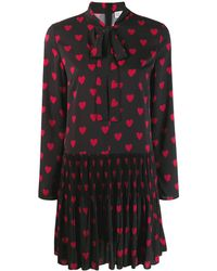 RED Valentino - ハートプリント ドレス - Lyst