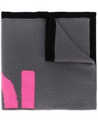 Fendi Logo knit scarf - Pink