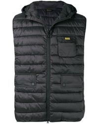 Barbour Ouston Quilted Gilet - ブラック