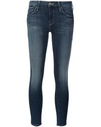 Mother - 'the Looker Crop' Jeans - Lyst