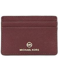 Michael Kors カードケース - レッド