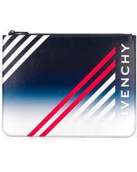Givenchy Pochette à logo - Bleu