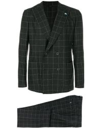Tombolini - Checked Formal Suit - Lyst