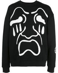 Haculla Scream スウェットシャツ - ブラック