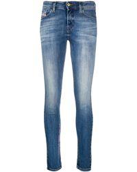DIESEL Jeans skinny Slandy - Blu