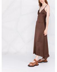 Golden Goose スリップドレス - ブラウン