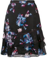Dorothee Schumacher - Ruffled Blossom Print Skirt - Lyst
