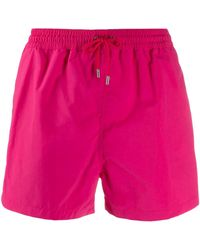 Paul Smith Short de bain à bande latérale - Rose
