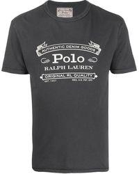 Polo Ralph Lauren - プリント ロゴ Tシャツ - Lyst