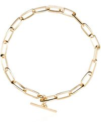 Lizzie Mandler ダイヤモンドチェーン ブレスレット 18kイエローゴールド - メタリック