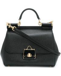 Dolce & Gabbana - フラップ ハンドバッグ - Lyst