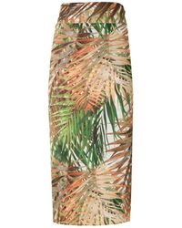 Lygia & Nanny Orixa Print Beach Skirt - Multicolour