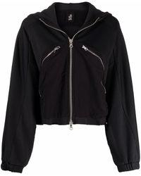Thom Krom Zipped Hooded Jacket - Black