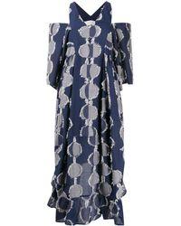 Henrik Vibskov Striped Tunic Dress - Blue