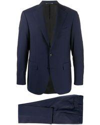 Canali ツーピーススーツ - ブルー