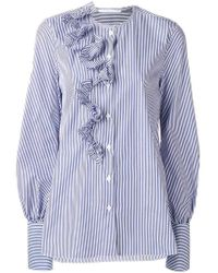 Ermanno Scervino - Ruffled Shirt - Lyst