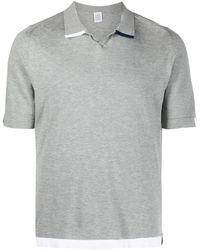 Eleventy - コントラストカラー ポロシャツ - Lyst