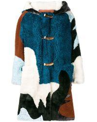 Missoni - Hooded Fur Coat - Lyst