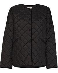 Totême Dublin Quilted Padded Jacket - Black