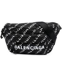 Balenciaga ウィール バッグ - ブラック
