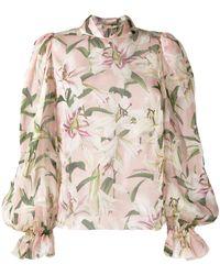 Dolce & Gabbana Floral Print Blouse - Pink