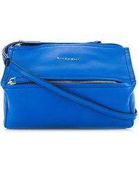 Givenchy パンドラ ショルダーバッグ - ブルー