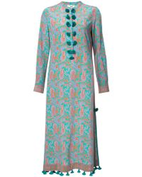 Figue - Paolina Paisley-print Midi Kaftan Dress - Lyst