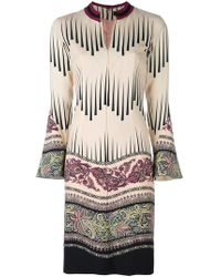 Etro - Floral Print Dress - Lyst