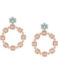 Dolce & Gabbana Серьги С Кристаллами - Металлик