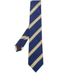 Church's - Striped Woven Tie - Lyst