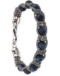 Emanuele Bicocchi - Beaded Chain Bracelet - Lyst