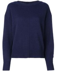 Isabel Marant - Calice Round Neck Jumper - Lyst