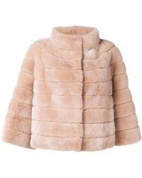 Yves Salomon - Long-sleeve Fur Jacket - Lyst