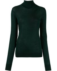 Ports 1961 Slim Fit Polo Neck - Green