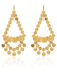 Marie-hélène De Taillac - Dancing Sequins Chandelier Earrings - Lyst