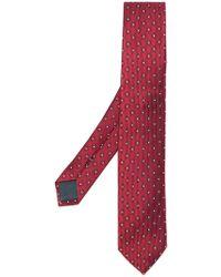 Ermenegildo Zegna - Floral Pattern Tie - Lyst