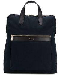 Paul Smith Logo Tote Bag - Black
