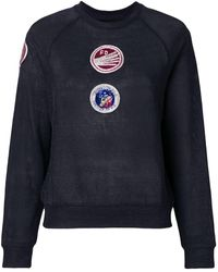 Mr & Mrs Italy - Patch embellished sweatshirt - Lyst