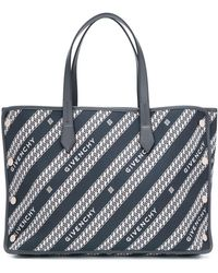 Givenchy Bond Medium Draagtas - Blauw