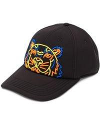KENZO - Tiger Print Baseball Cap - Lyst