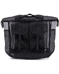 Ally Capellino Frank Sheer Backpack - Black