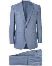 Gieves & Hawkes Tailored suit jacket - Bleu