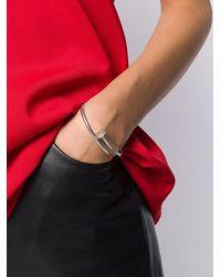Cartier 18kt White Gold Diamond Just Un Clou Bracelet - Multicolour